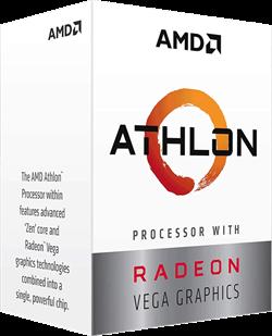 Процессор AMD Athlon 300GE, BOX - фото 110182