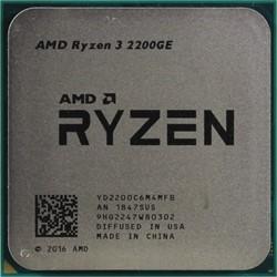 Процессор AMD Ryzen 3 2200GE, OEM - фото 110229