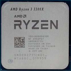 Процессор AMD Ryzen 3 3300X, OEM - фото 110238