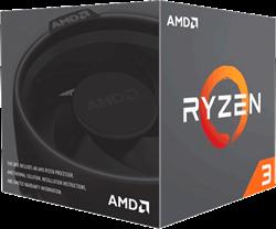 Процессор AMD Ryzen 3 3300X, BOX - фото 110252