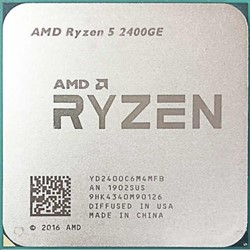 Процессор AMD Ryzen 5 2400GE, OEM - фото 110254