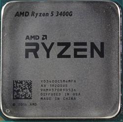 Процессор AMD Ryzen 5 3400G, OEM - фото 110257