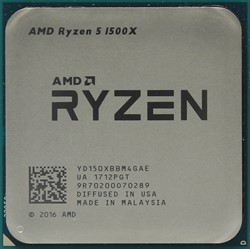 Процессор AMD Ryzen 5 1500X, OEM - фото 110259