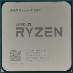 Процессор AMD Ryzen 5 1600, OEM - фото 110260