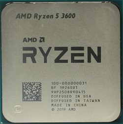 Процессор AMD Ryzen 5 3600, OEM - фото 110269