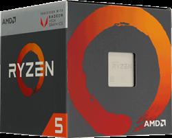 Процессор AMD Ryzen 5 2400G, BOX - фото 110272