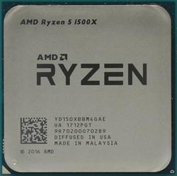 Процессор AMD Ryzen 5 1500X, BOX - фото 110281