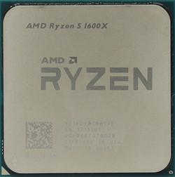 Процессор AMD Ryzen 5 1600X, BOX - фото 110285