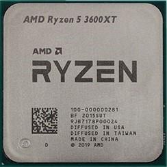 Процессор AMD Ryzen 5 3600XT, OEM - фото 132636