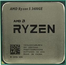 Процессор AMD Ryzen 5 3400GE, OEM - фото 184549