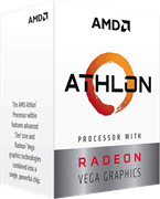 Процессор AMD Athlon 240GE, BOX