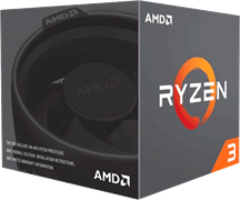 Процессор AMD Ryzen 3 1200 AF, BOX