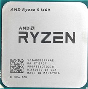 Процессор AMD Ryzen 5 1400, OEM