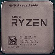 Процессор AMD Ryzen 5 1600 AF, OEM