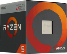 Процессор AMD Ryzen 5 1600, BOX