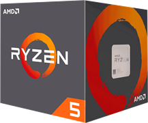 Процессор AMD Ryzen 5 2600, BOX