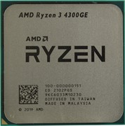 Процессор AMD Ryzen 3 4300GE, OEM
