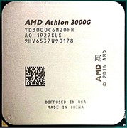 Процессор AMD Athlon 3000G, OEM